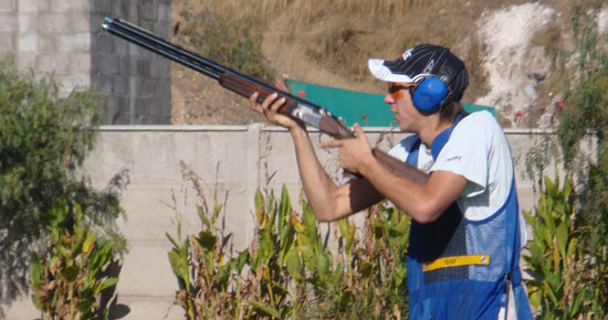 The Chilean skeet shooter Raúl Franco came in second place in the ISSF world championship