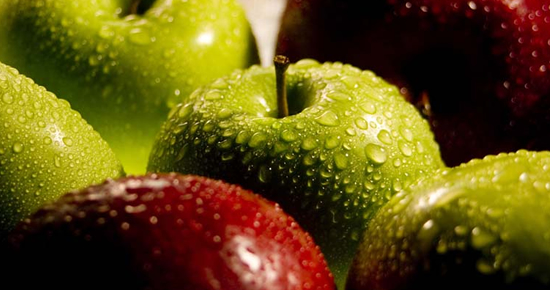 Apples are one of Chile's leading fruit exports.