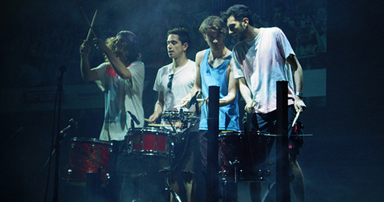 Chilean band Astro performing at MFEST at Centro Cultural Matucana 100 last week. Photo by Gwynne Hogan/This is Chile.