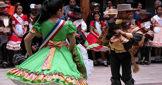 Chile begins September celebrations with cueca dance ...