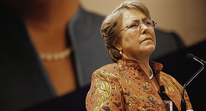 Chilean president Michelle Bachelet was named on TIME Magazine's list of 100 most influential people in the world for 2014. Photo by Michelle Bachelet / Wikicommons