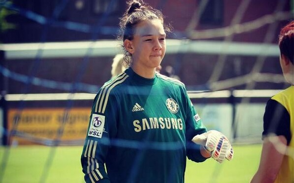 Chilean women's captain Christiane Endler is the latest star signing for English soccer giant, Chelsea. Photo via ChelseaFC