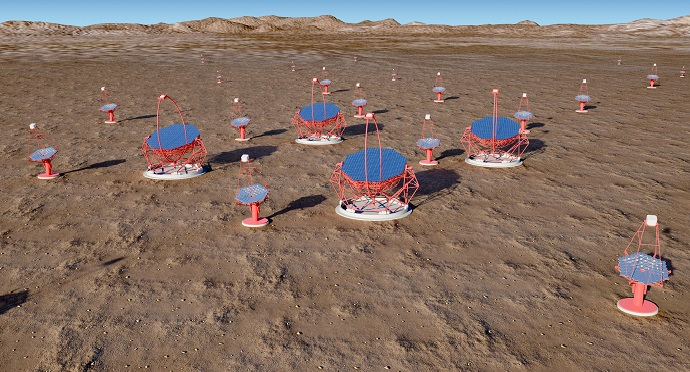 The ESO hopes to welcome the Cherenkov Telescope Array to its Paranal site in Chile's Atacama. Photo via ESO.