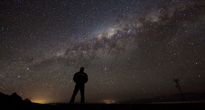 Chile's clear night skies demand attention. Photo by A. Fitzsimmons/ESO.