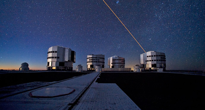 ESO Very Large Telescope (VLT). Credit: ESO/S. Brunier